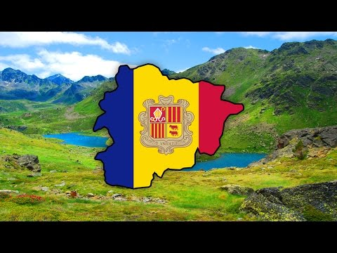 Blank Map of Andorra - Speedart
