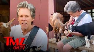 Kevin Bacon Performs Live | TMZ TV