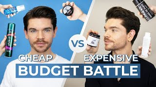 Men's Quiff Hairstyle   Cheap vs. Expensive Hair Products