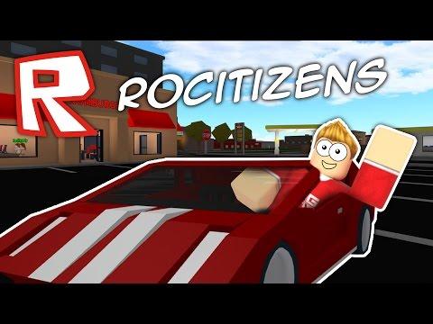 MY FIRST CAR!! Roblox RoCitizens