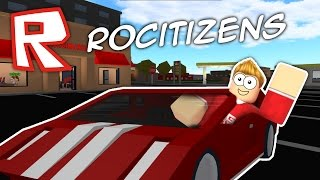 MY FIRST CAR!! Roblox RoCitizens