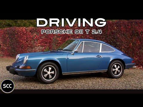 PORSCHE 911 T 2.4 Coupé 1973 - Test drive in top gear - Engine sound | SCC TV