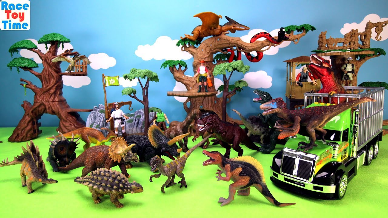 Best Animal Planet Toys For Kids And Toddlers : Animal planet dino transporter playset dinosaurs toys