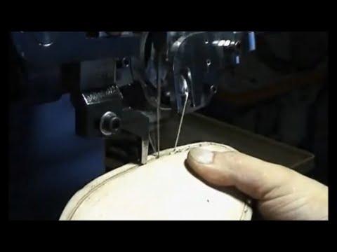 Máquina Lockstitcher para suela - YouTube