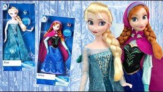 Frozen: Anna & Elsa 2018 Classic Disney Store dolls REVIEW