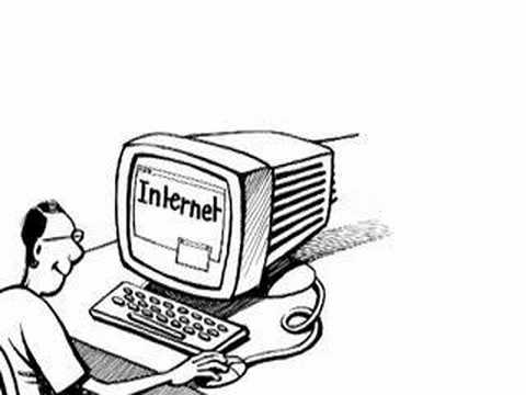 Image result for cartoon internet