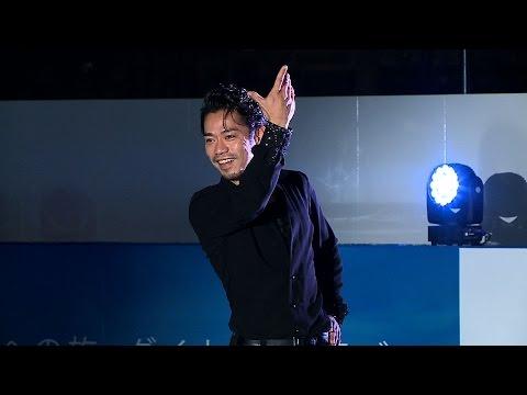 高橋大輔、新年初滑り披露 熱愛報道は否定 「ダイナースクラブ アイスリンクin東京ミッドタウン」オープニングイベント『Light up Rink』