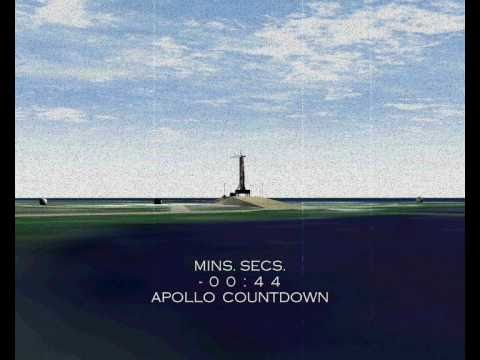 Apollo 11 Lift-Off Animation - YouTube