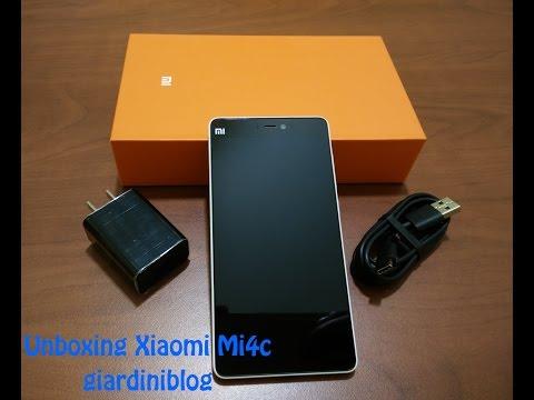 Unboxing Xiaomi Mi4c