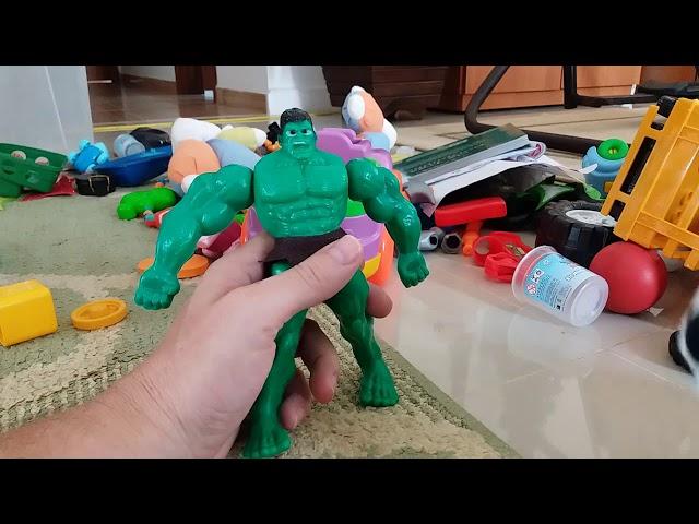 Montando o Hulk