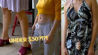 ASMR AliExpress Chifave Fashion Try-On Haul (HIT or MISS?)
