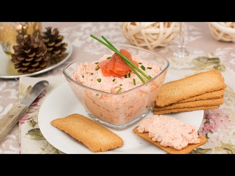 Smoked Salmon & Cream Cheese Pate - How To Make Smoked Salmon Spread