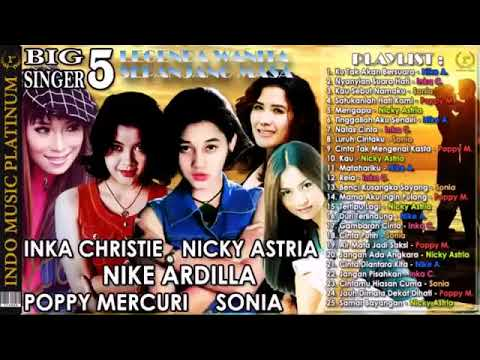 MP3 INKA Christie. Nicky Astria. Nike Ardilla.poppy Mercuri .sonia