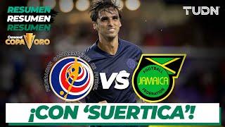 Resumen y goles   Costa Rica vs Jamaica   Copa Oro 2021   Grupo C