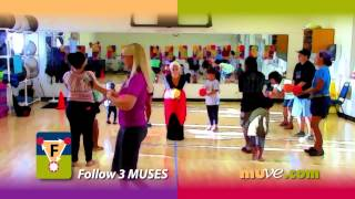 Fun Family Activities - Dancing Games For Children, Teens And Adults Fitness