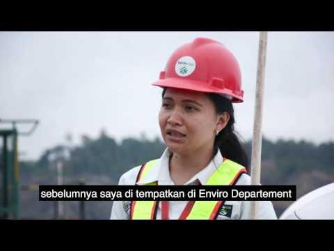 Christine Anggraini, Seorang Wanita Yang Berprofesi Sebagai Safety Expert Di Berau Coal