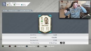 FIFA 20 | Icon Ronaldinho for 127K 😭 Icon Sniping on Ultimate Team 🔥