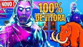SKIN DO GALAXY É 100% THE WIN-FORTNITE