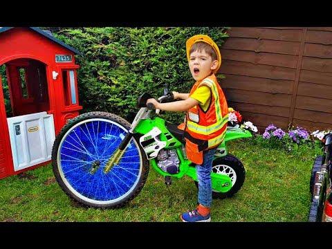 Kids Ride on Motorbike  Power Wheels
