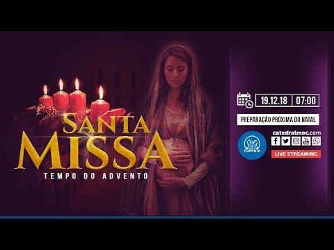 Santa Missa Pelos Enfermos -  19/12/18 - 07:00 - Catedral de Montes Claros