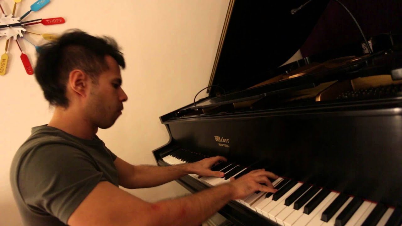 Sia - Chandelier, piano and keyboard cover, Amery Reuben - YouTube