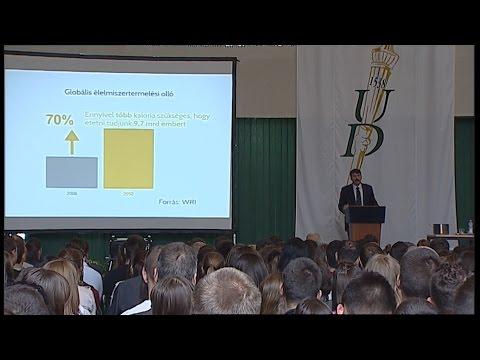 Áder János köztársasági elnök előadása a Debreceni Egyetemen