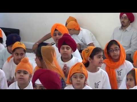 Jo Mange Thakur Apne Shabad Kirtan By Kids At Orlando Gurmat Camp