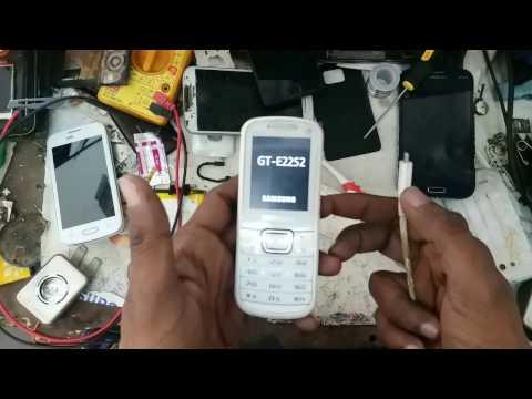 On off or restart problem any mobile phone (samsung e2252)