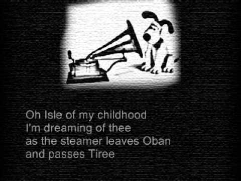 The Dark Island - Ann Williamson with lyrics