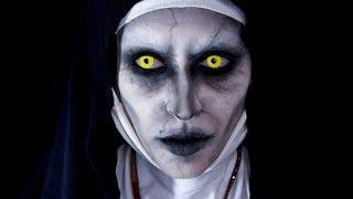 Valak (The Nun) Easy Makeup Transformation