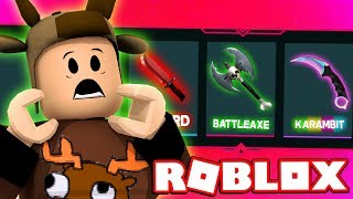 HALLOWEEN GODLY KNIFE CRATE UNBOXING! (ROBLOX MURDER MYSTERY 2)