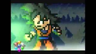 sonic and goku and tails and amy vs broly