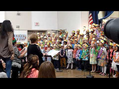 2018-12-12 Clover Avenue Elementary School Holiday Concert