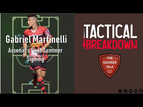 Martinelli Transfer to Arsenal?! | Tactical Breakdown