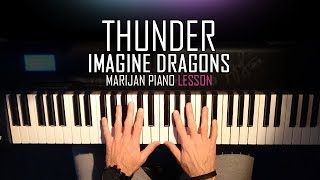 How To Play Imagine Dragons Thunder Piano Tutorial Lesson Sheets