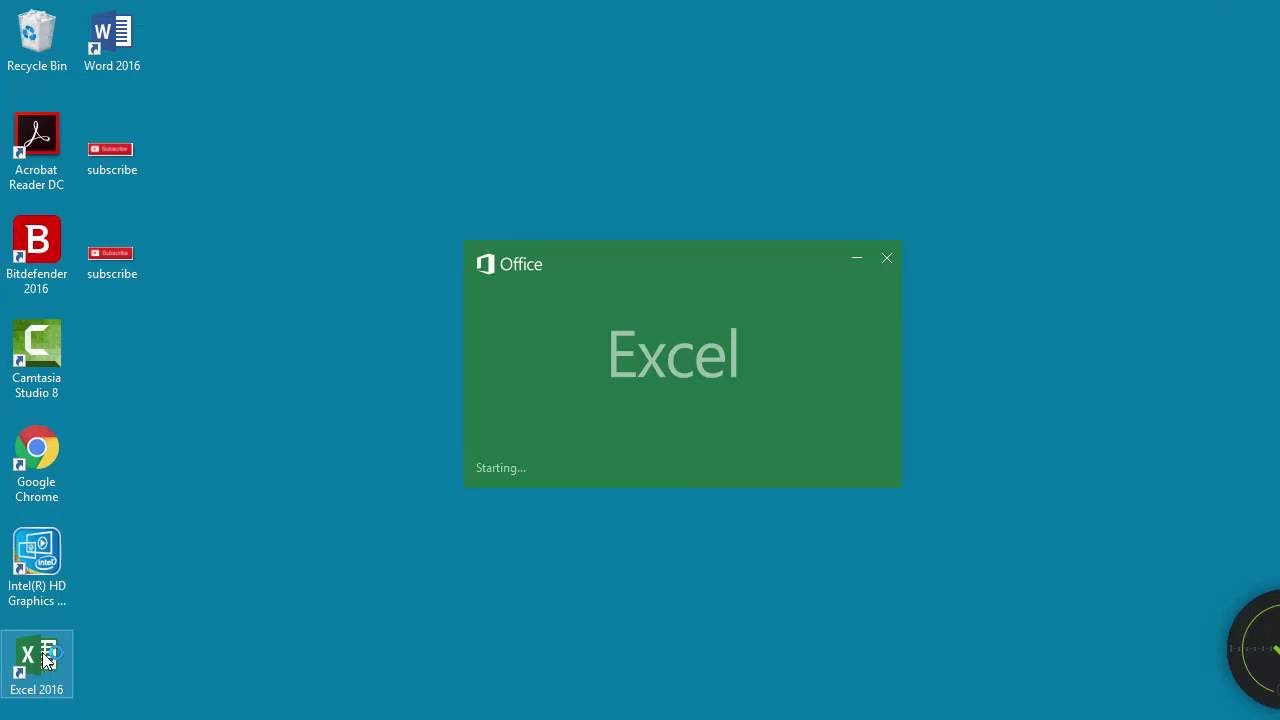 how to use and create templates in excel 2016 youtube