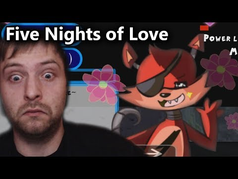 DER FNAF DATING SIMULATOR | Five Nights of Love (Deutsch/German)