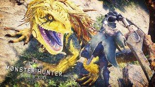 THE HUNT BEGINS | Monster Hunter World Beta (Great Jagras Hunt)