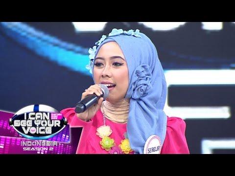 Suara Sang Seroja bawakan Kejora Bikin Ridho Menangis dan Kesal! - I Can See Your Voice (21/3)