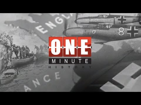Operation Dynamo - DUNKIRK - The Miraculous Rescue - World War II - One Minute History