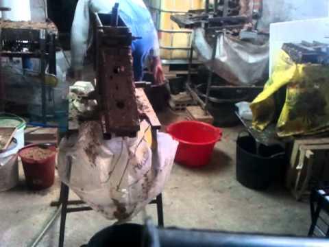 pressing 50 briquettes under 9 min.