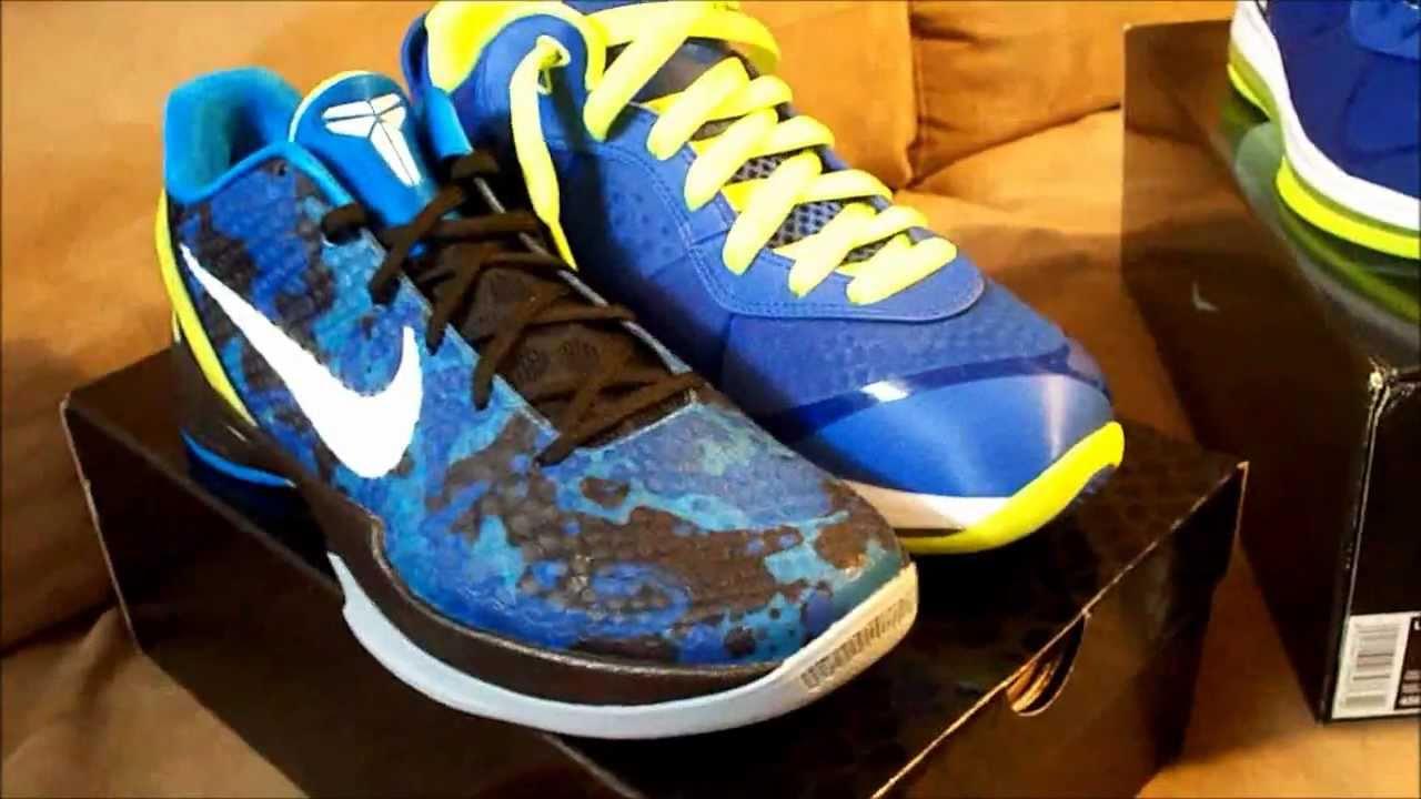 huge discount 3d9fb 2eece Nike Zoom Kobe VI Avatar 6 Blue White Volt