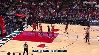 1st Quarter, One Box Video: Chicago Bulls vs. Miami Heat