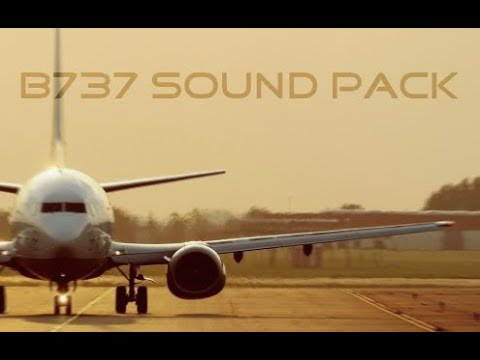 B737 Sound Pack V1.3