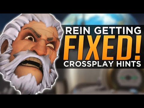 Overwatch: Rein Getting FIXED! - NEW Cross Platform Hints! thumbnail