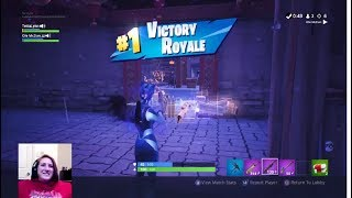 New Blue Lynx Skin Victory *Fortnite*