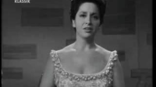 """Teresa Berganza sings """"Nana"""" M.de Falla"""