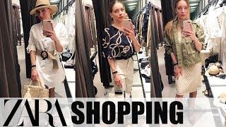 ЛЕТНЯЯ КОЛЛЕКЦИЯ ZARA. Shopping Vlog. Шопинг-влог ЗАРА