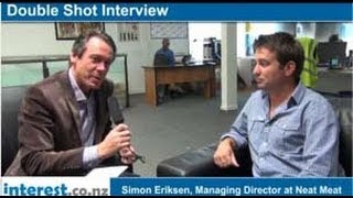 Double Shot Interview: Simon Eriksen. Managing Director at Neat Meat with Andrew Patterson