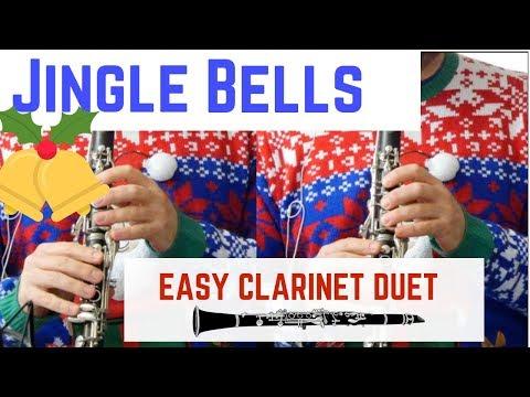 Clarinet Duet - JINGLE BELLS (Free Sheet Music)